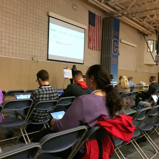 #gafesummit starting now at Louisville Collegiate School. http://t.co/JgHbCQnH4p