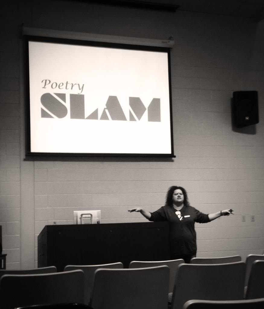 #WEKY Mandy Lawson is firing us UP with some SLAM POETEY. WHOO!! http://t.co/MozXfBxeuz