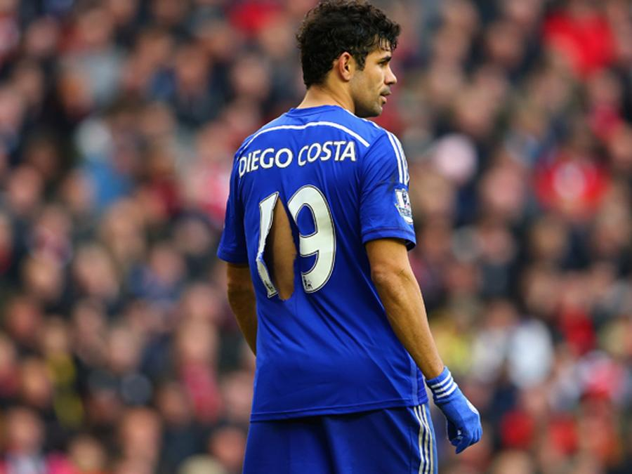 Foto Diego Costa | VIDEO Liverpool 1 - 2 Chelsea, Filmato Gol Highlights