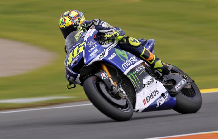 Foto Valentino Rossi Yamaha in Diretta TV Streaming GP Valencia MotoGP