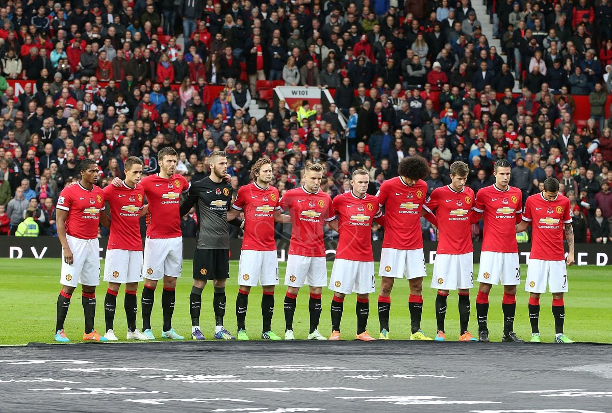 """Manchester United No Twitter """"PIC United S Players Observe"""