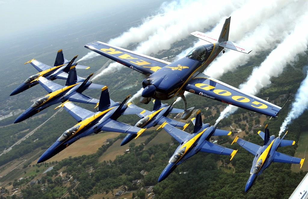 Very excited to fly at Pensacola today. This is still a photo I'm very proud of. @BlueAngels http://t.co/dyUzBZzVPO