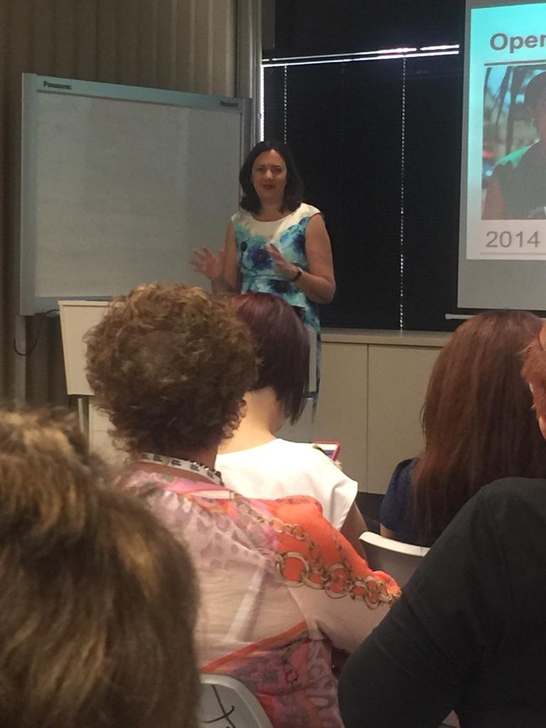Being inspired by our future Premier @AnnastaciaMP  #qlwnc14 #laborwomenrock http://t.co/ZzCHLtWMnz