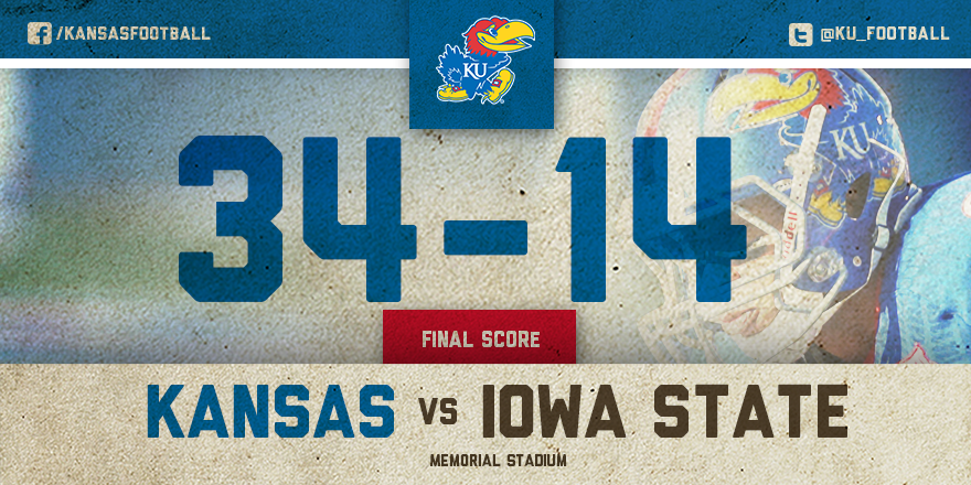 KANSAS WINS! http://t.co/pvypsaWAJG
