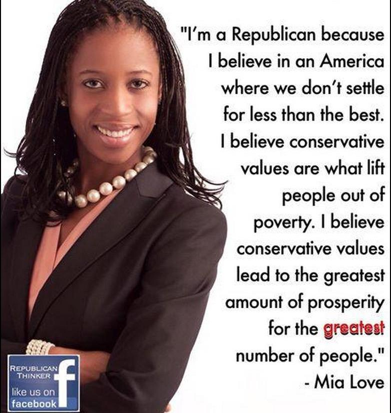 Huffington Post on Mia Love: She Looks Black, but Her Politics Are Red