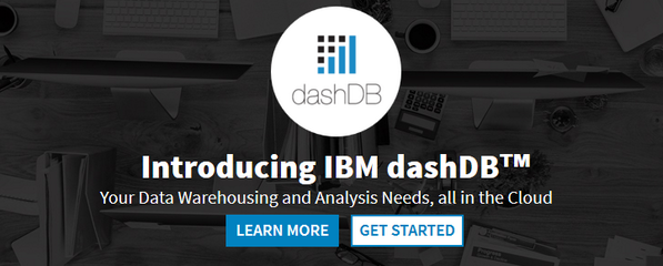 Cloud easy #datawarehousing and #analytics - welcome IBM dashDB.  Get started at http://t.co/curphSOveX  #cloudant http://t.co/SqQpywbanj