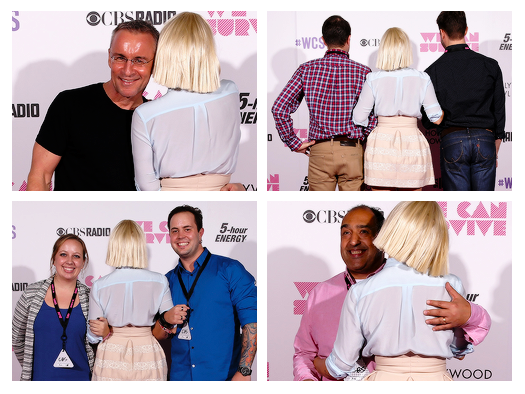 sia meet and greet pictures ideas