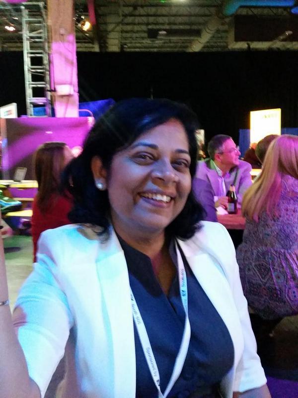 At #devinsight with @madhu_kochar, the Elastigirl of #dashDb. http://t.co/jkxIyXlpxZ