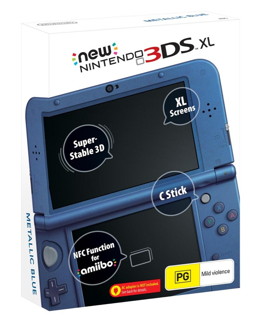 The New 3DS and 3DSXL B1AdOD9CYAIF0N7