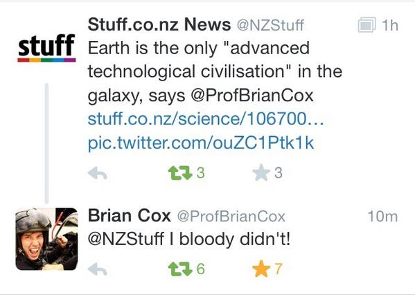 You've been told @NZStuff ! LOL http://t.co/uo6ZlUz47J