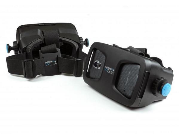Hoy, a las 19h, presentación de ImmersiON-VRelia GO, un casco de realidad virtual portátil http://t.co/pr0T8XWGC5 http://t.co/IpTAxy07bA