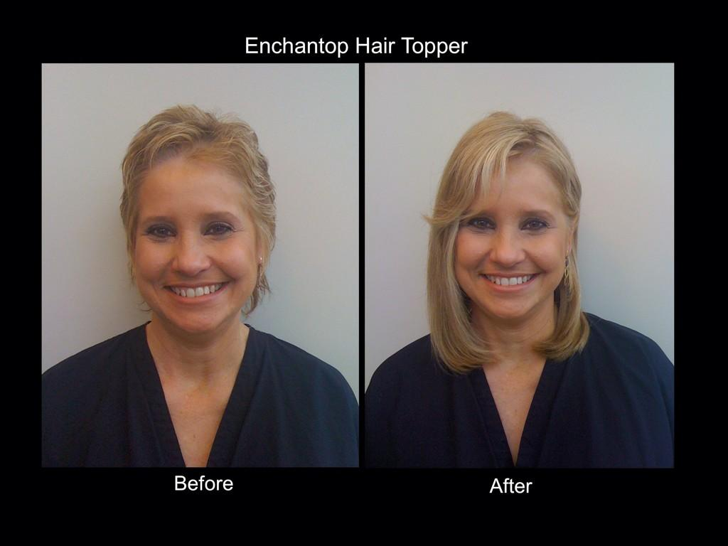 Gorgeous Strandz On Twitter Enchantop Hair Topper Before And After