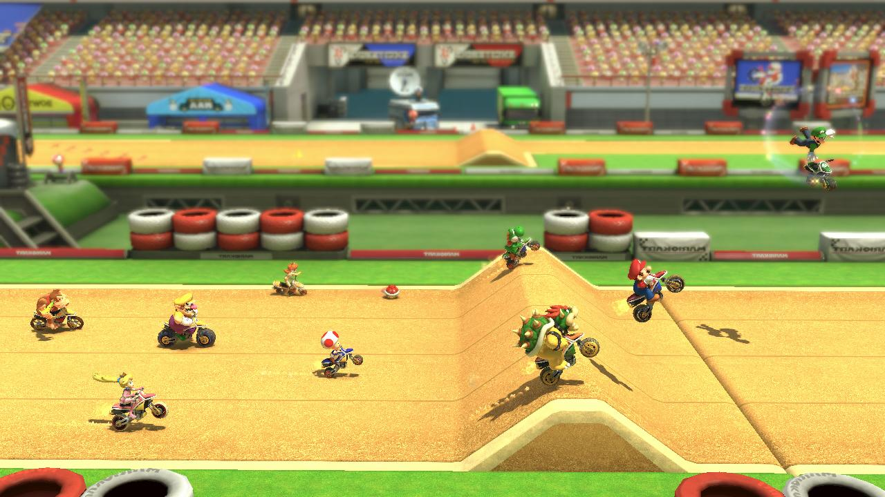 Mario Kart 8 Dlc Excitebike Arena Trailer Ign Boards
