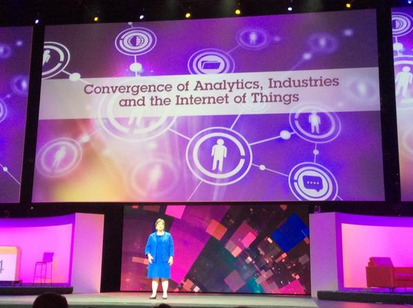 Up now is Beth Smith @IBM sharing where #IoT has changed peoples lives like Bionik Laboratories #IBMInsight http://t.co/E1EKy8T3UE