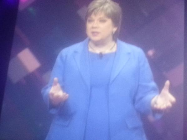 """Gather, analyze, act deliver the real value of #iot. Bev Smith IBM GM of iot @IBMIoT @IBM_DB2 #IBMInsight #analytics http://t.co/lx78bmWqEw"