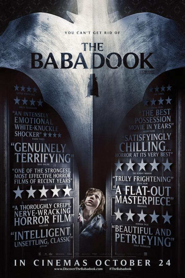 WIN a cool new t-shirt from 'The Babadook' OUT NOW! TO ENTER simply FAVOURITE & RETWEET! #TheBabadook @IconFilm http://t.co/ghijIOW1yA