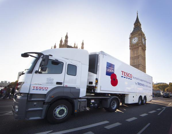 Tesco signs Armed Forces Corporate Covenant. Aims to employ veterans & raise more than £4.5m for Poppy Appeal. http://t.co/AERhKea5sb