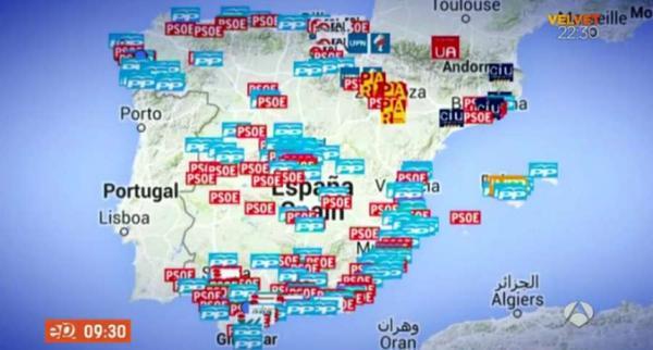 El desolador mapa de la corrupción en España http://t.co/i1wOpr7aUC http://t.co/MyGOczqmcQ