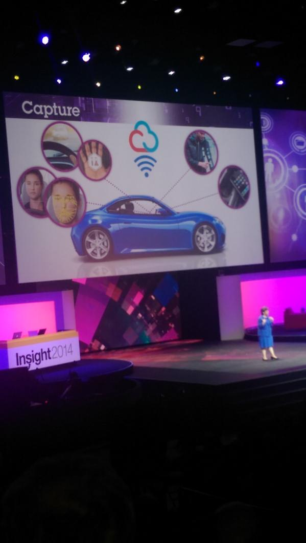 The connected car gathers and synthesizes data; Jaguar Land Rover lets you virtually experience #ibminsight http://t.co/lZR4sy5UKp