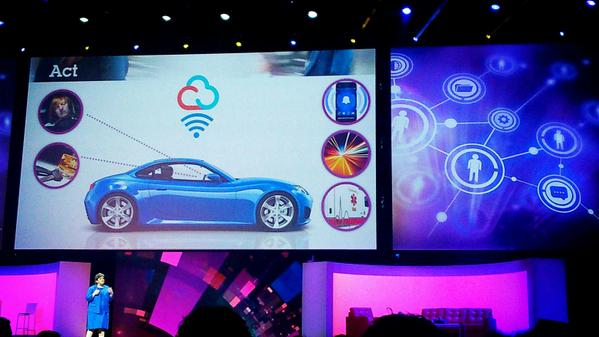 Internet of things... Car detecting you fall asleep, detecting a driver from his call Phone #IBMInsight http://t.co/fsqz5XZmdn