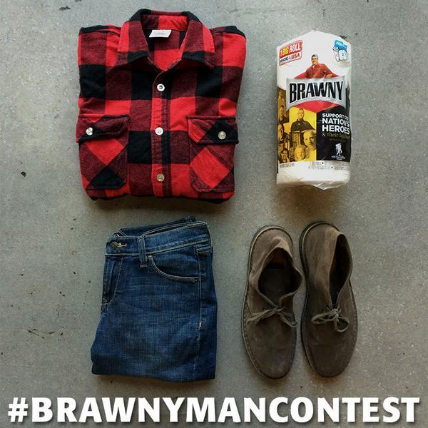 Need a quick costume idea? Be The Brawny Man, & use #BrawnyManContest for a chance to win! http://t.co/HnlH6Nodsj http://t.co/V8peAkuVJA