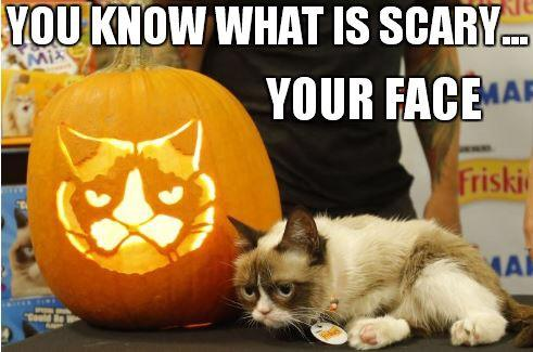 Celebrate #NationalCatDay and Halloween with a @RealGrumpyCat #Grumpkin carving: http://t.co/vspOWg6stW http://t.co/mEMXMEgXBl