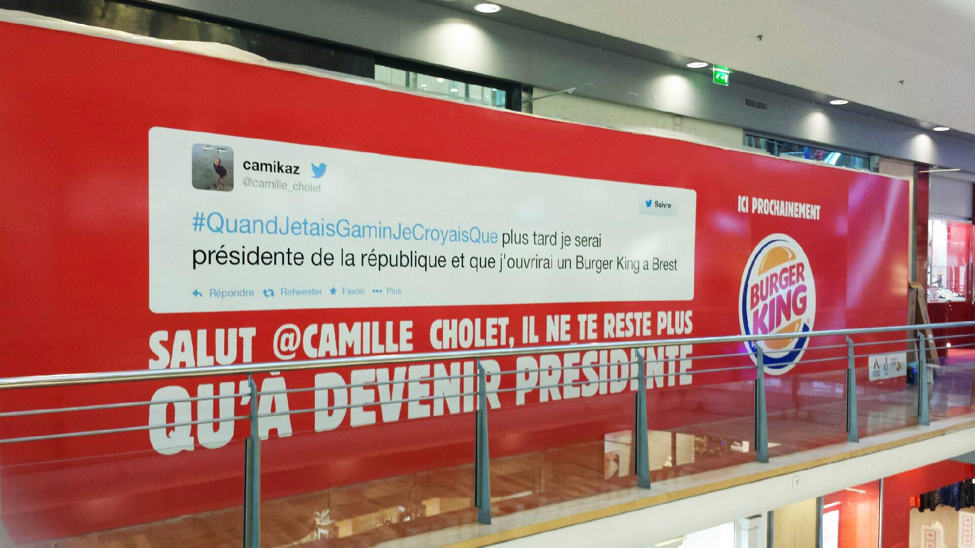 burger king france on twitter   u0026quot promis  camille cholet  on votera pour toi       t co  oya7by9npm u0026quot