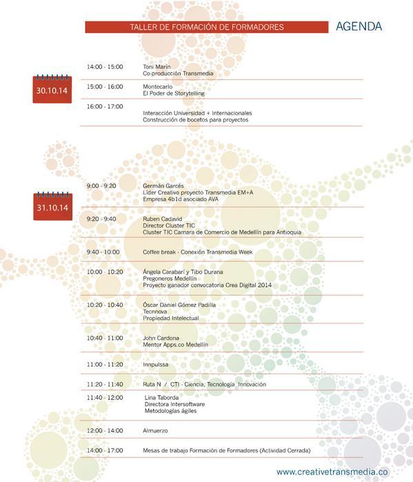 Día 2 con presencia de: @CamaraMedellin Cluster TIC, @Tecnnova_UEE @AppsCo @Ruta_n @InnpulsaCol @InterSoftwareCo http://t.co/Awm9tiahra
