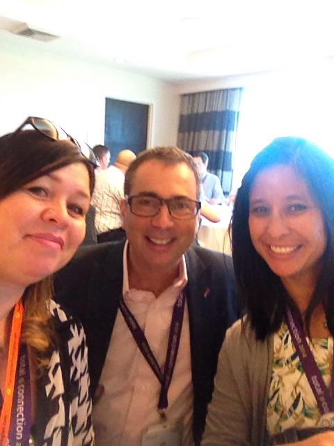 """""""@itisicathi: Selfie w/ @johnjambrose , VP SS Prod Strategy. <I hope you win the GoPro!> #SumTotalTC14 http://t.co/TVkSr7ohu2"""""""