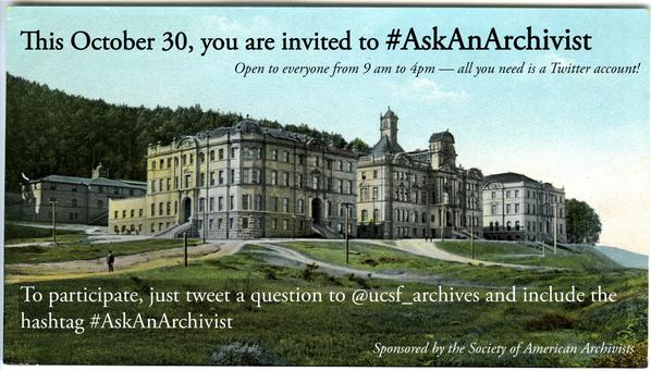 What burning questions do you have for us? #AskAnArchivist Day coming on October 30! @archivists_org http://t.co/PdrbveDaQH