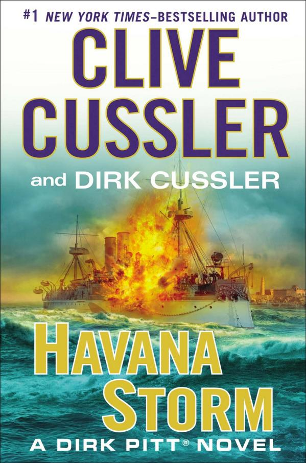 "Today is the day!  Dirk Pitt has returned for another thrilling adventure of suspense and intrigue in ""Havana Storm"". http://t.co/FKU3yZlH4s"