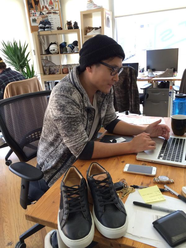 Afternoon catchup with our neighbor, @GreatsBrand, maker of awesome sneakers!  #DayInTheLife http://t.co/ioBVI4fmM8