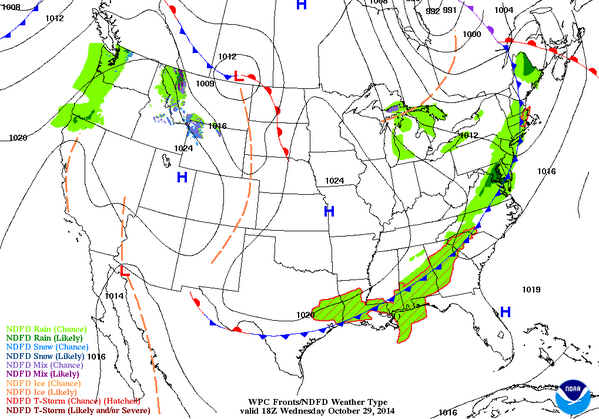 NWS New York NY on Twitter Here is a surface weather map for