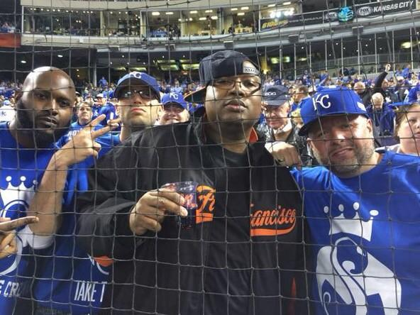 Look who's behind home plate at Game 6 it's Uncle Earl @E40 #LetsGoGiants @hot1057fm http://t.co/Dvn29HwNyx