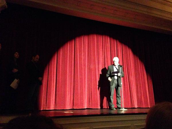 Bob Hercules introduces the world premiere of #TheSchoolProject. http://t.co/NIMGpyjSak http://t.co/WOFk2DI6vs