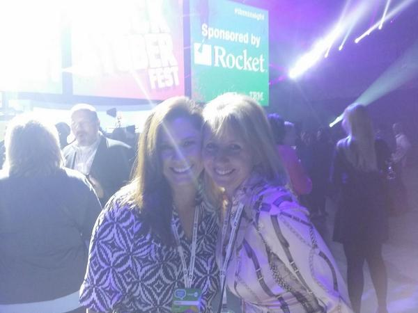 .@fcarson and @allyco ready to rock out to No Doubt. #ibminsight http://t.co/5mX1FfRZm7