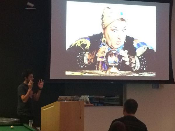@zenorocha predicting the future @sandiegojs @WalmartLabs on #webcomponents. http://t.co/0mw8xfpZpC