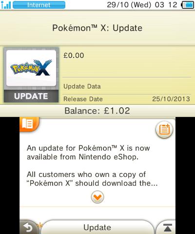 Parche Pokemon XY