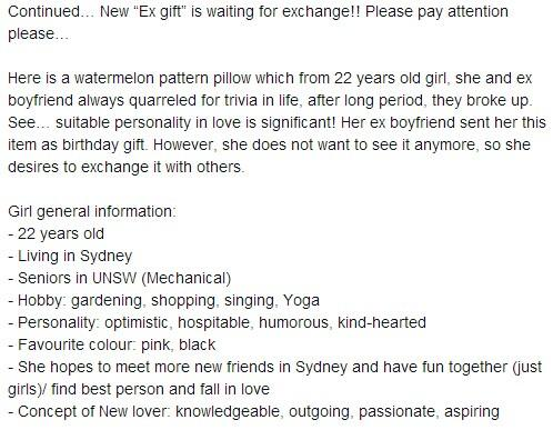 Present For Ex Boyfriend New Cool 18th Birthday Cards Source Exgiftsexchange Twitter
