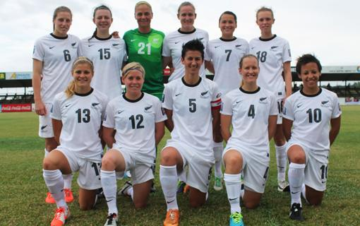 WE'RE THERE!! #FootballFerns qualify for the @FIFAWWC in Canada in 2015!! @OFCfootball #OFCWNC http://t.co/HxWYzBpE7U