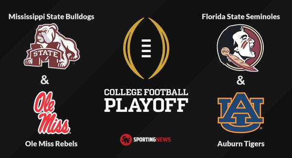 Sporting News On Twitter The First College Football Playoff