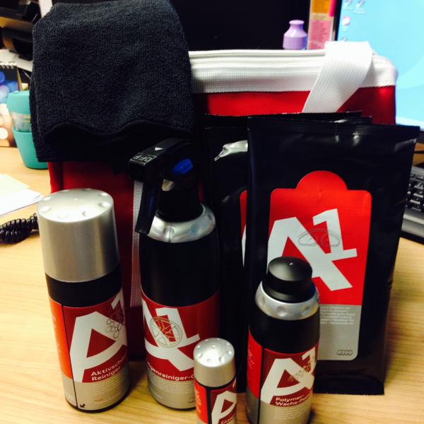 Swansway Group On Twitter WinningWednesday To Win This Audi - Audi car cleaning kit