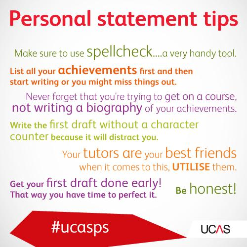 Ucas On Twitter Personal Statement Pointers Galore Http T Co