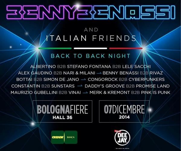 Excited to play B2B with @daddysgroove at @BennyBenassi and Friends.