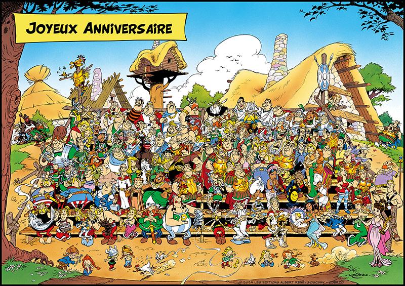 """Bien connu Astérix on Twitter: """"55 ans qu'ils vous font rire au rythme de  XC41"""