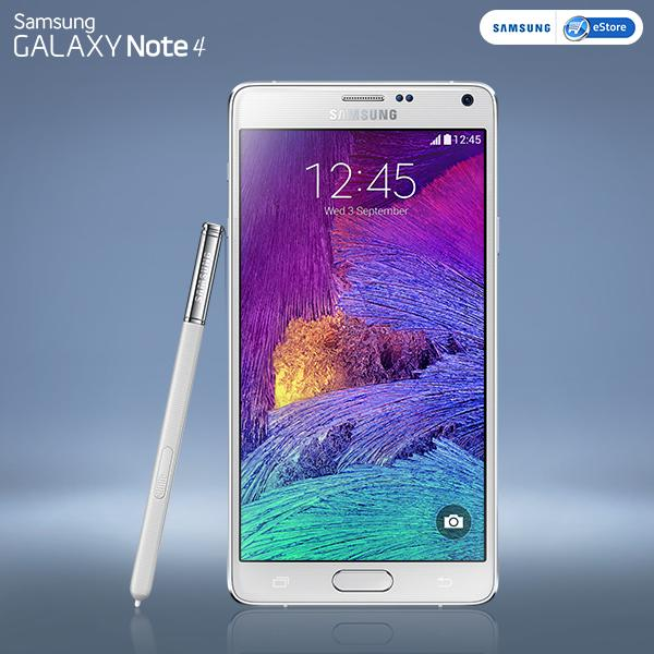The dazzling white #Samsung #GALAXYNote4 is here.  Buy now on #SamsungIndiaeStore: http://t.co/XzqPMjfG6F http://t.co/8BQ5NypTjW