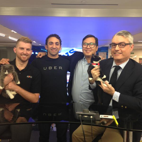 It's #NationalCatDay! Open the @Uber app between 12-4pm to request kitten playtime! #uberkittens @Cheezburger http://t.co/lmH1Ga9Kkq