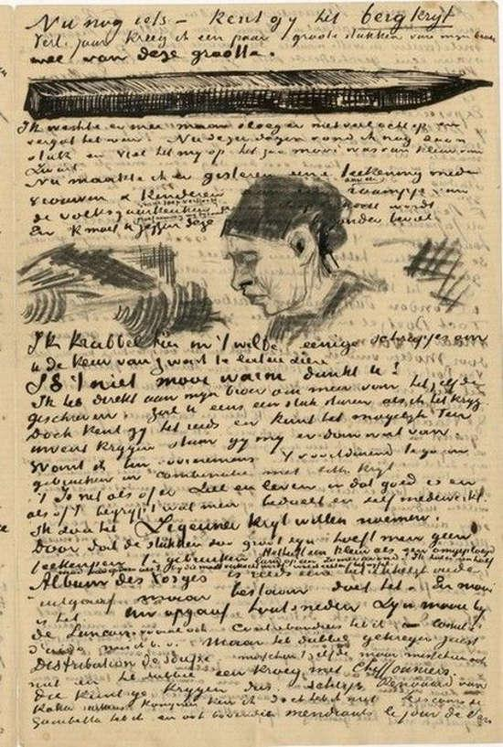 bibliophilia on twitter letter from vincent van gogh to mile bernard april 19th 1888 httptcoegii3hjzml
