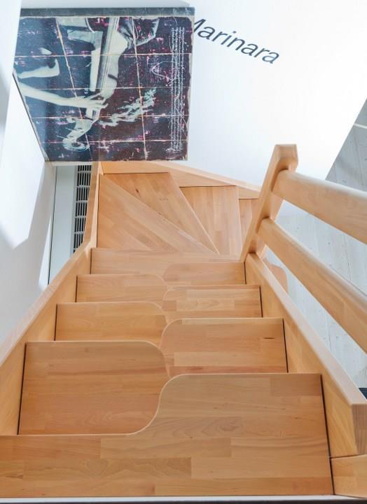 On twitter alternativa a la escalera de for Escaleras de poco espacio