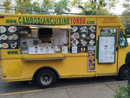 cambodian food truck food. Black Bedroom Furniture Sets. Home Design Ideas